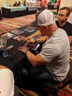 Billy Gunn autograph