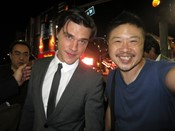 Finn Wittrock autograph signing
