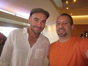 Paul Blackthorne autograph signing
